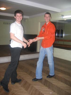 Виталик и Егор
