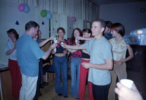 Витя Радзюн (Питер) и первые киевские сальсерос
