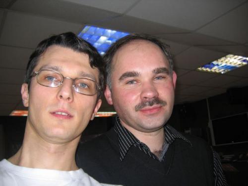 Игорь Кудрик и Виктор Радзюн